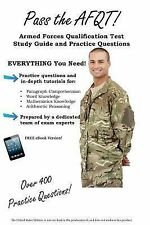 Pass the AFQT Armed Forces Qualification Test Study Guide and Practice...