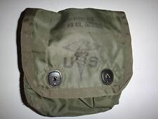 US Military Medical Instrument & Supply FIRST AID KIT Green OD Nylon Case Pouch