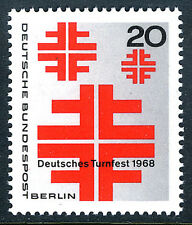 Germany-Berlin 9N266, MNH. Turner Festival, Soest, 1968