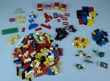 Vintage 1970's LEGO Family Figures/Wheels/Blocks/Windows Assorted 339 Set/Lot