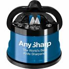 AnySharp Blue World's Best Knife Sharpener Brand New 100% Genuine UK Stock