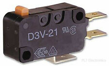 OMRON ELECTRONIC COMPONENTS - D3V-161M-2C5 - MICROSWITCH, SPST-NC, 16A, SHORT LE
