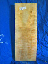 AAA Wormy Curly Fiddleback Tiger Striped Flamed Maple Electric Guitar Billet