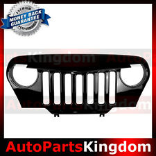 Angry Bird Front Gloss Grill Grille For Rubicon Sahara TJ Jeep Wrangler 97-06