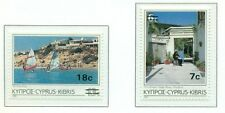 PAYSAGES - LANDSCAPES OF CYPRUS 1986 Common Stamps overprint