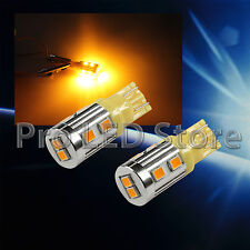 T10 High Power LED 2835 Chips Bright Amber Yellow Interior Light Lamp Bulb