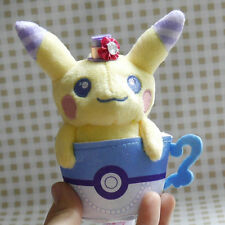 Pokemon Center PokeNeco Dolce Econeco mascot Plush Doll Pikachu male Blue
