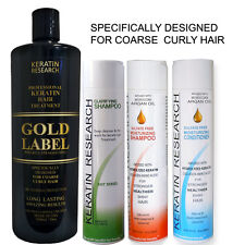 Complex Global Brazilian Blowout Keratin Hair Treatment Gold Label 1000ml XL Kit