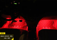 4pcs 36LED INTERIOR LIGHT KIT for ALL CARS w ACCENT NEON GLOW Red Color