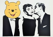 "Death nyc-audrey bear kiss ""sia"" - ltd edition signé graffiti/art urbain imprimé"