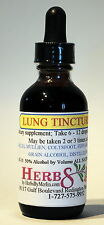 Herbs by Merlin LUNG Respiratory Asthma Bronchitis TINCTURE Organic  2 Fluid Oz