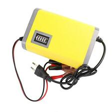 ​12V 6A Motorcycle Car Auto Battery Charger Intelligent Portable Adapter