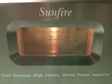 Sunfire 300 x 2 Stereo Amplifier by Bob Carver 300 Watts per Channel