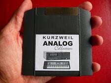 Los programas de sonido analógico Iomega Cremallera Kurzweil k2600 k2600r k2500 k2500r k2000r k2661