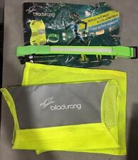BILADURANG Reflective High Visibility Safety Running Vest with LED Armband. Gear