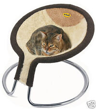 Cleo Deluxe Cat Napper Cat Bed with Fawn Slub Insert (09-500FNWL)