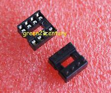 30pcs  8pin DIP IC Socket Adaptor Solder Type Socket Pitch Dual Wipe Contact