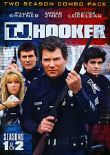 T.J. Hooker - The Complete First and Second Season (DVD, 2014, 5-Disc Set)
