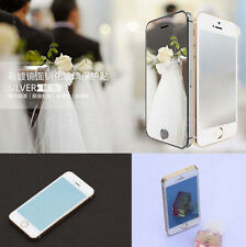 Colored Tempered Glass Reflective Mirror Screen Protector Film For iPhone 6S 4.7