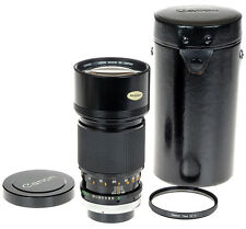Canon FD 200mm f2.8 SSC Manual Focus Super Telephoto Lens in Case - Excellent!
