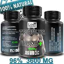Tribulus Terrestris MAX 96% Saponins 3600mg Caps Anabolic Testosterone Booster