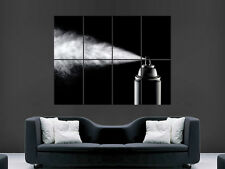 GRAFFITI SPRAY CAN MINIMAL ARTISTIC ABSTRACTWALL POSTER ART PICTURE PRINT LARGE