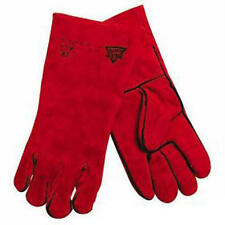 330Mm Welding Gloves Welders Gauntlets Heavy Duty Metal Work Safety - Silverline