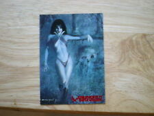 1995 TOPPS VISIONS OF VAMPIRELLA RED FOIL CARD # 47 SIGNED RAY LAGO ART