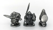 Dwarf with Spears Warhammer Fantasy Armies 28mm Unpainted Wargames