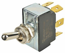 Carling 2GM51-73 Bat-Handle Toggle Switch On-Off-On 15A/125Vac 10A/250Vac NEW