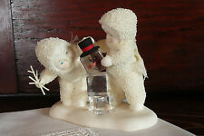 """Department 56 Snowbabies  """"Pull Yourself Together""""   Fun Ice Cube Snowman ~ 2006"""