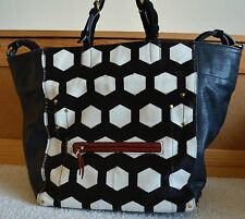 JEROME DREYFUSS Multicolor Pony Hair Jacques Square Tote *Sold Out*