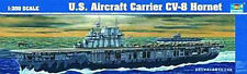 NEW Trumpeter 1/350 U.S.S. CV-8 Hornet Aircraft Carrier 05601