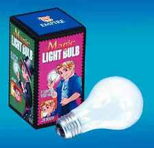 MAGIC LIGHT BULB MAGIC GLASS BULB MAGICIAN TRICK