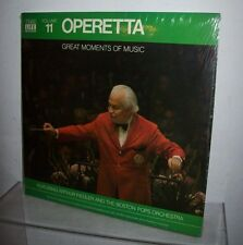 TIME LIFE VOLUME 11 OPERETTA RECORD ALBUM ARTHUR FIEDLER & THE POPS ORCHESTRA