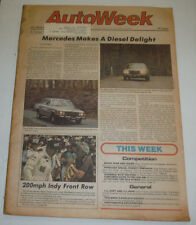 AutoWeek Magazine Mercedes Makes A Diesel Delight June 1978 123014R