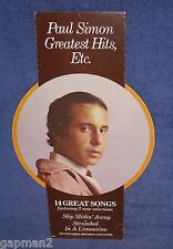Paul Simon 1977 Greatest Hits Columbia LP Promotional In-Store Mobile