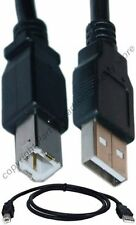Lot10 3ft short USB2.0 A~B AB Printer/Device/Scanner/Hub Cable/Cord/Wire {BLACK