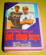 INDONESIA:PET SHOP BOYS  Greatest TAPE CLAM SHELL ASIA MC + Lyric Sheet