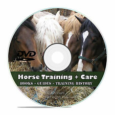 Vintage Horse Training Taming Library, Learn How To Make a Harness, Books CD V44