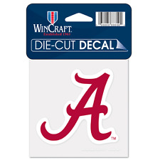 "University of Alabama Crimson Tide Alternate Logo Die Cut Decal 4"" x 4"" Colored"