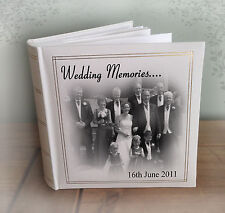 "Personalised large photo album, 200 x 7x5"" photos, Wedding Engagement present"