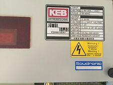 NEW KEB 09.56.200-B129,2.8KVA POWER,7.0A Combivert Inverter Variable Drive,BOXZR
