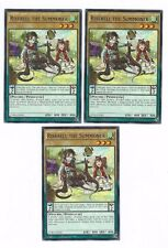 X3 YUGIOH RISEBELL THE SUMMONER CORE-EN002 1ST COMMON (IN HAND)