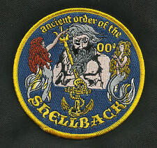 US NAVY Crossing of the Equator Shellback Military Patch ANCIENT ORDER SHELLBACK