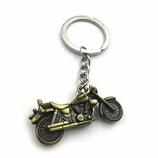 NEW Mens Creative Alloy Metal Keyfob Gift Car Keyring Keychain Key Chain Ring