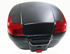 Black Hard Case, Detachable Luggage Box Scooter/Motorcycle, 814125