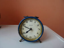 WINTAGE old MINI CLOCK HALLER antiques  GERMAN  2