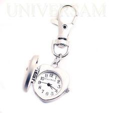 Mode Geschenk Herz Damen Herren Taschen Unisex Analog Schlüsselanhänger Uhr