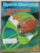 What's Wrong With The NFL 1984 Sports Illustrated 11/12/84